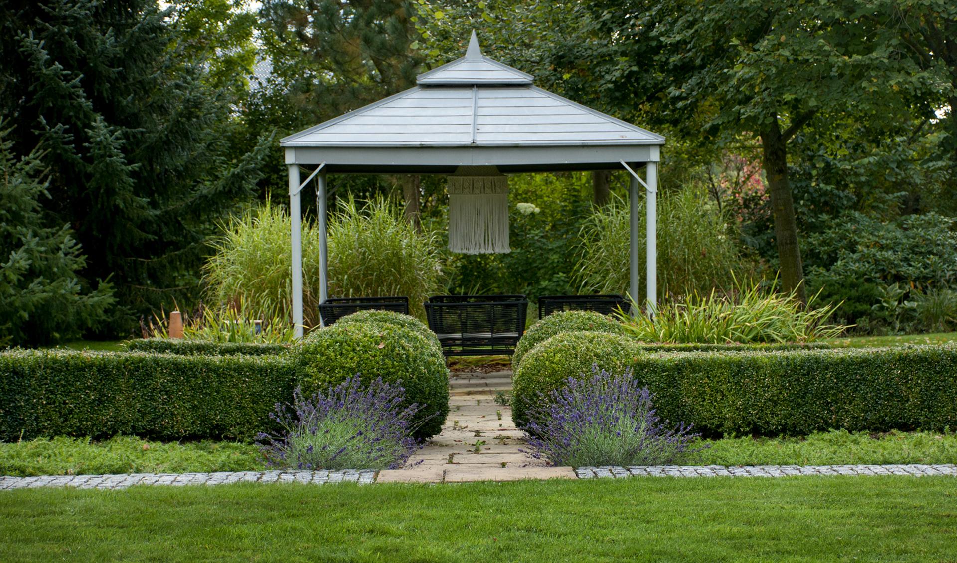 ogród klasyczny Szczecin