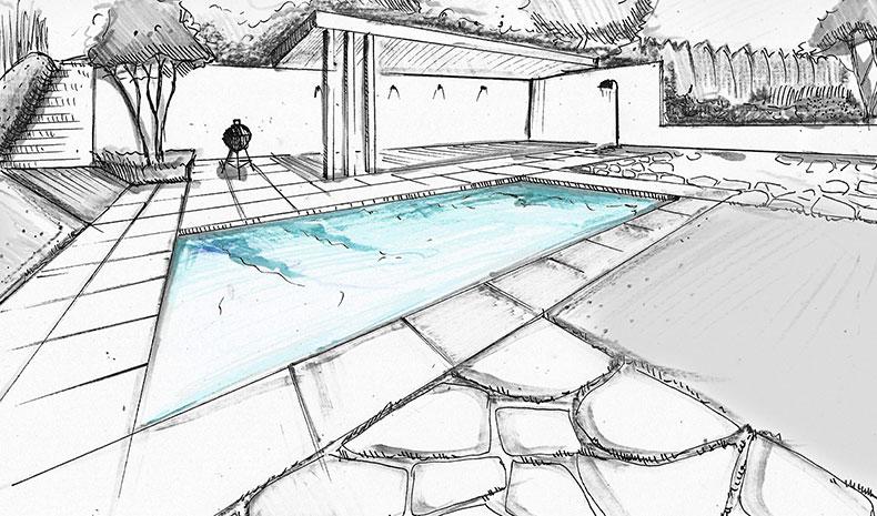 projektowanie wizualizacja ogród